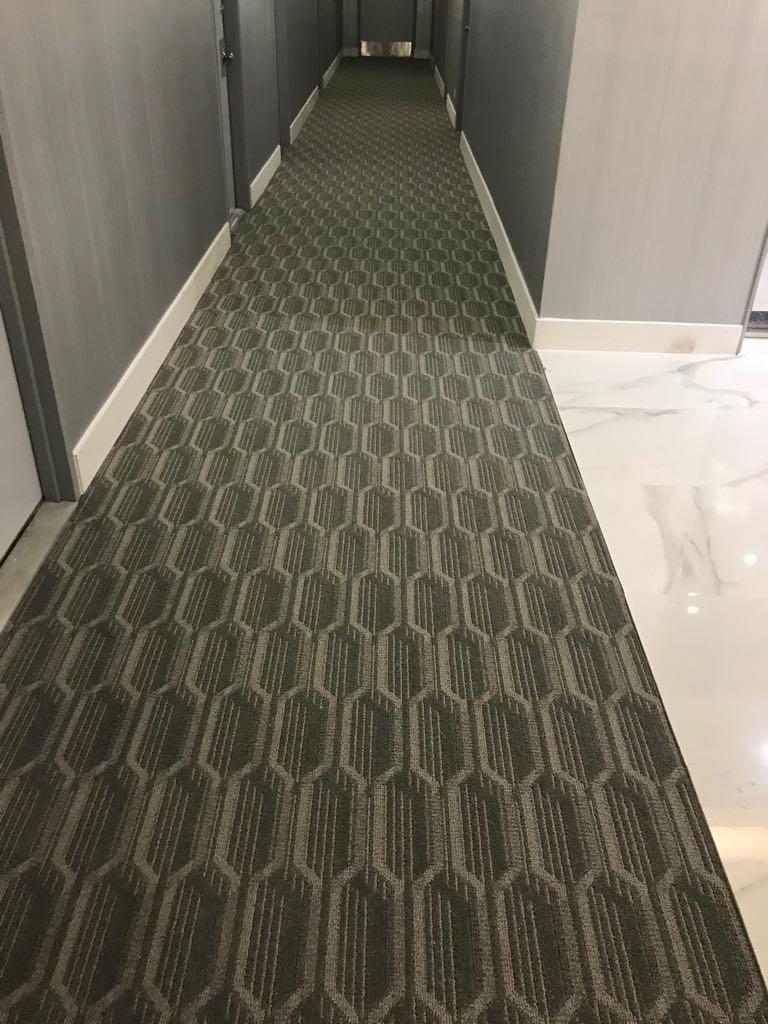 Hallways Carpet for School in Miami